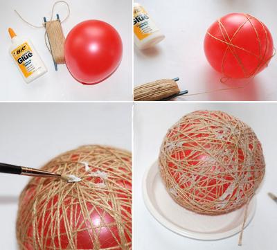 Делаем своими руками из шарика